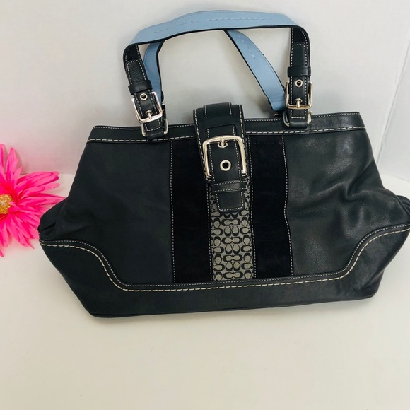 Coach Handbags - COACH-Sachet leather handbag. (Dr. Bag type bag)